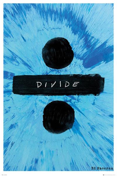 Plakát Ed Sheeran - Divide