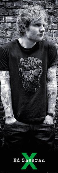 Plakat Ed Sheeran - Skull