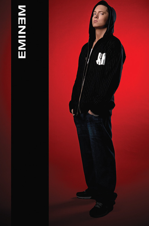 Plakát Eminem - hoodie