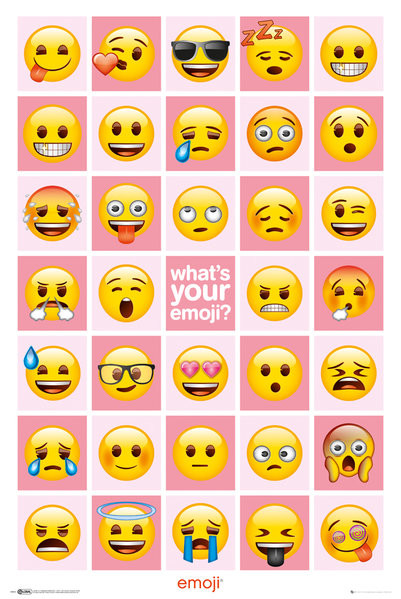 Plakát EMOJI - What's Your Emoji