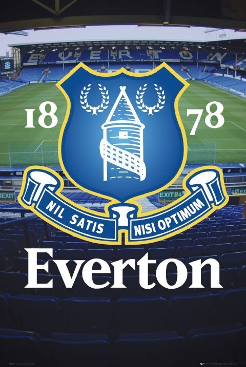 Plakat Everton - goodison crest