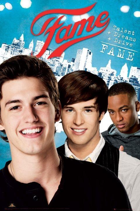 Plakat FAME - boys