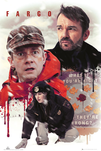Plakát Fargo - Collage