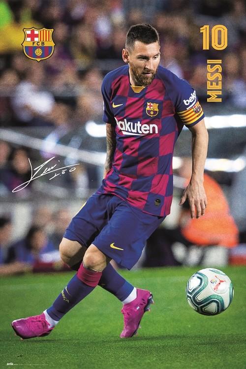 Plakát FC Barcelona - Messi 2019/2020