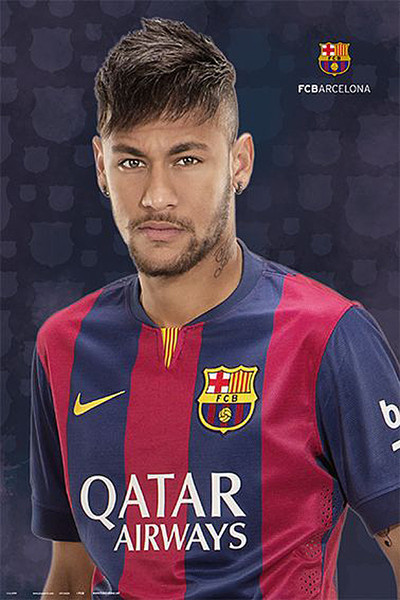Plakát FC Barcelona - Neymar Jr.