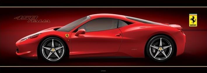Plakát Ferrari - 458 italia