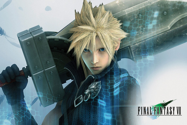 Plakát Final Fantasy VII - Cloud