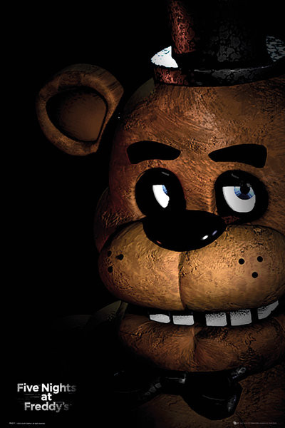 Plakat Five Nights At Freddy's - Fazbear