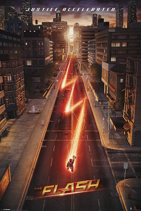 Plakat Flash - Lightning