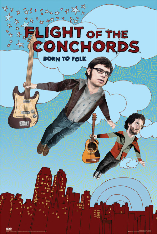 Plakat FLIGHT OF THE CONCHORDS - season 2