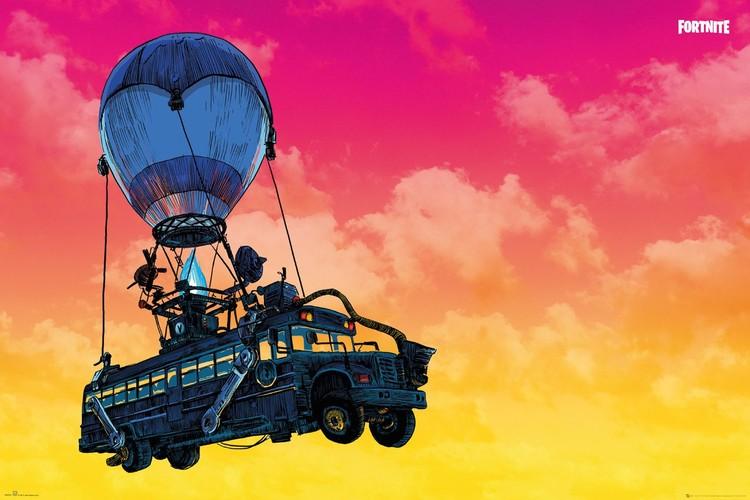 Plakat Fortnite - Battle Bus