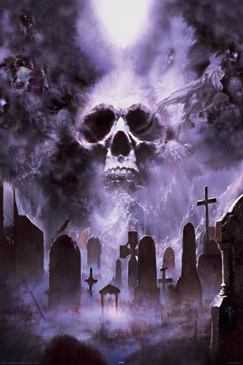 Plakat Fournier - cemetery