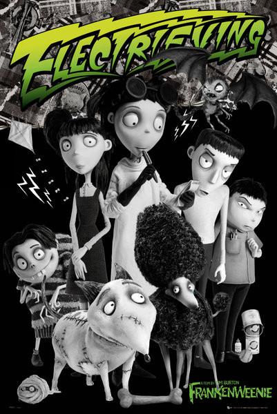 Plakát FRANKENWEENIE - cast