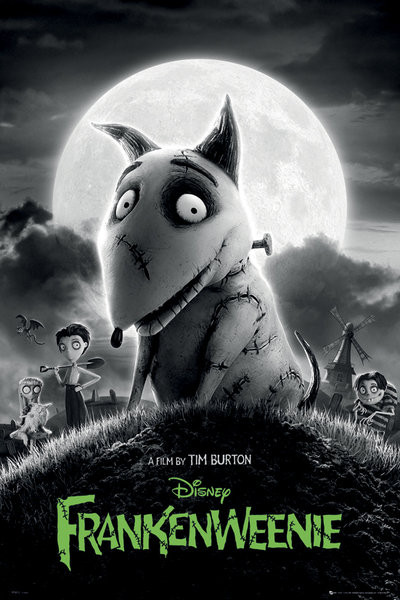 Plakát FRANKENWEENIE - one sheet