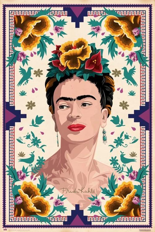 Frida Kahlo Plakát Obraz Na Zeď Posterscz