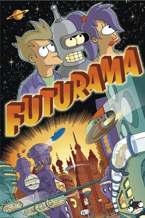 Plakát FUTURAMA - trio