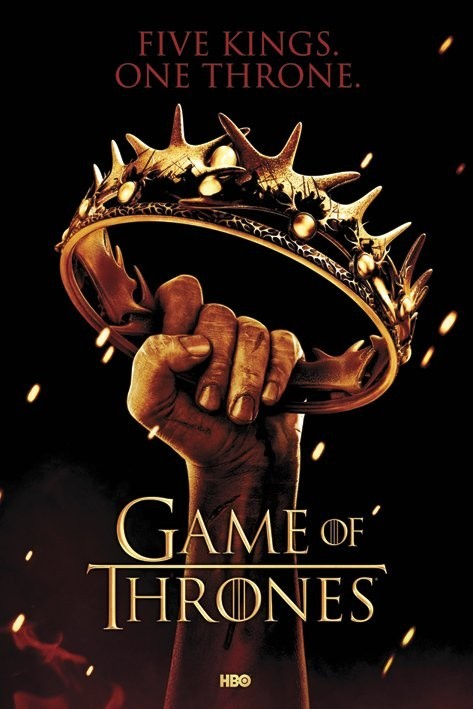 Plakat GAME OF THRONES - crown