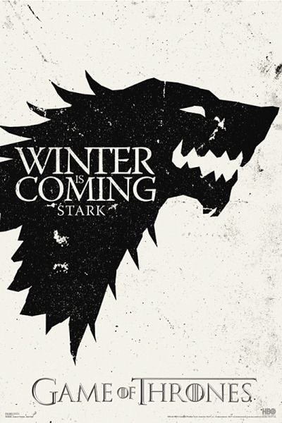 Plakat, Obraz GAME OF THRONES GRA O TRON Winter is Coming | Kup na Posters.pl