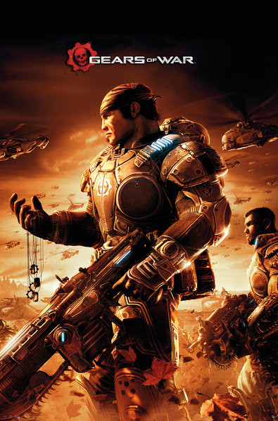 Plakat Gears Of War - Armour