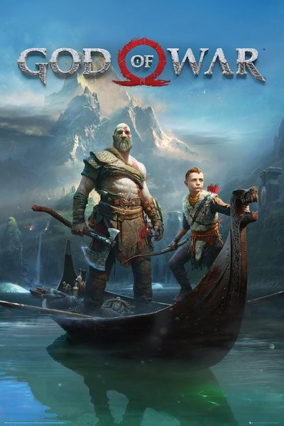 Plakát  God Of War - Key Art