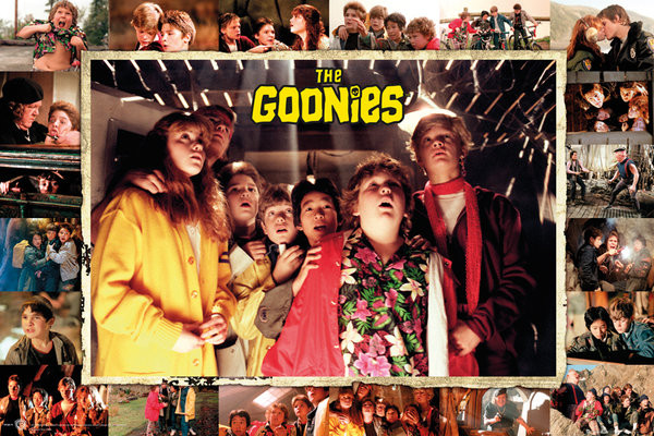 Plakat Goonies - Compilation