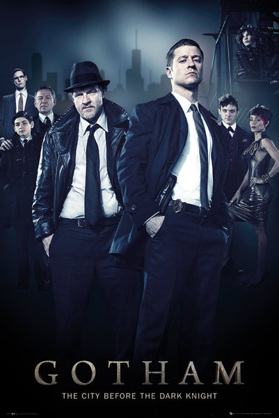 Plakát Gotham - Cast