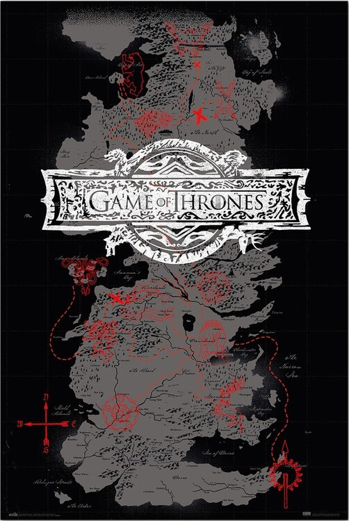 Plakat Gra o tron