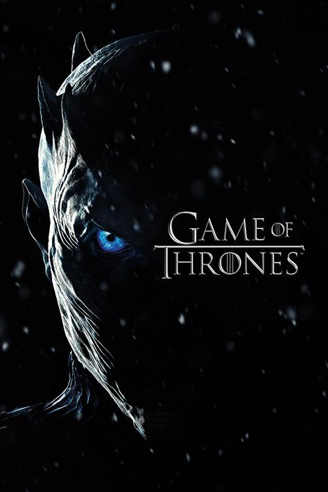 Plakat Gra o tron - Season 7 Night King
