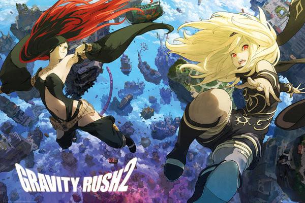 Plakát  Gravity Rush 2 - Key Art