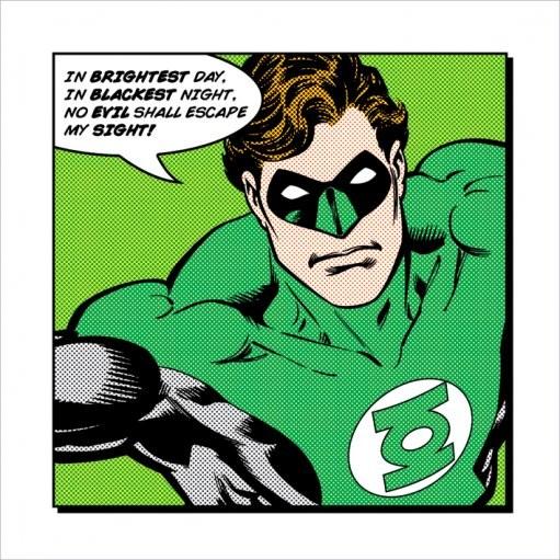 Reprodukcja Green Lantern - Brightest Day