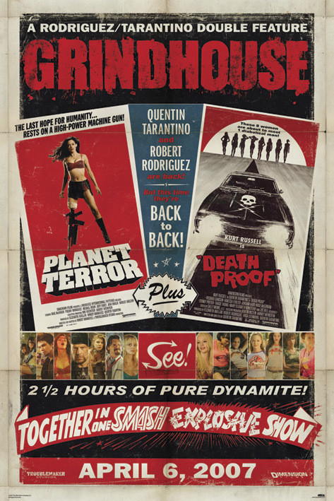 Plakat GRINDHOUSE - final