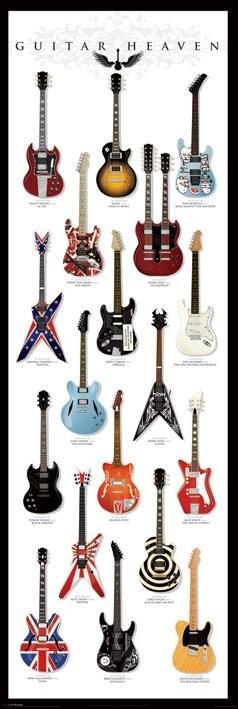 Plakat Guitar heaven