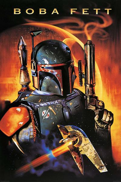 Plakat Gwiezdne wojny -  Boba Fett