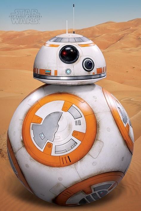 Plakat Gwiezdne wojny, część VII - BB-8