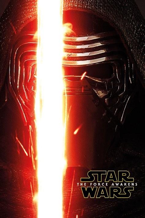 Plakat Gwiezdne wojny, część VII : Przebudzenie Mocy - Kylo Ren Teaser
