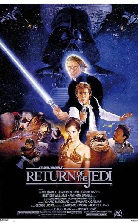 Plakat Gwiezdne wojny - Return Of The Jedi