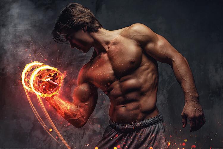Plakát Gym - Exercise