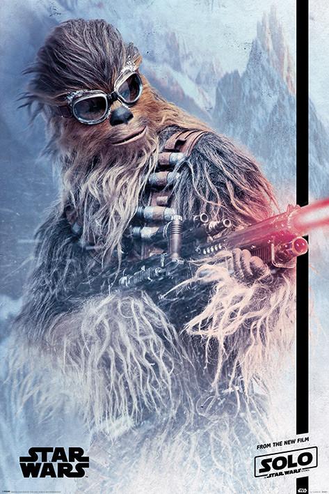 Plakat  Han Solo: Gwiezdne wojny historie - Chewie Blaster