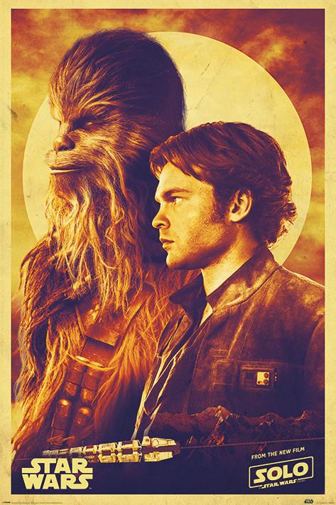 Plakat  Han Solo: Gwiezdne wojny historie - Han and Chewie