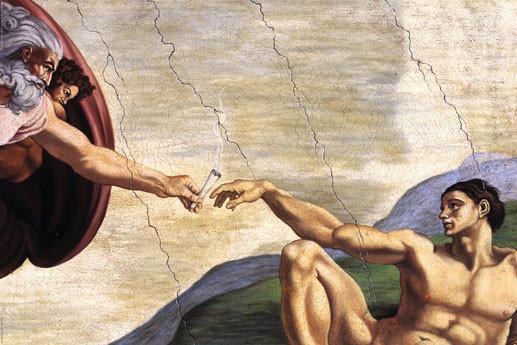 Hand of pot  plakát, obraz