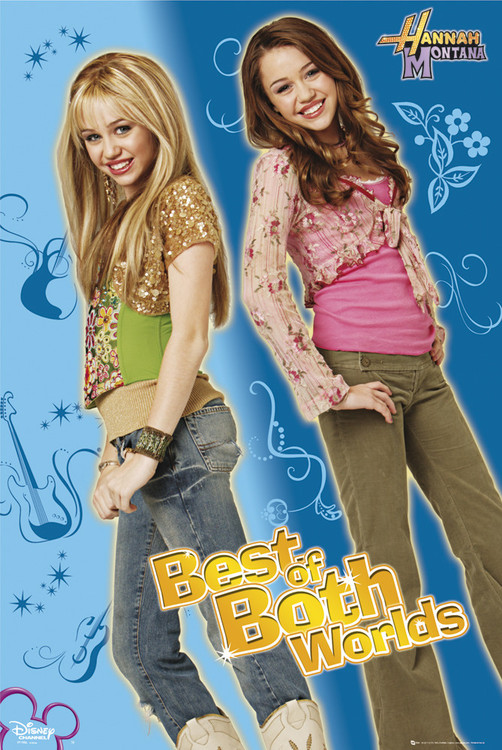 Plakát HANNAH MONTANA - best of both worlds