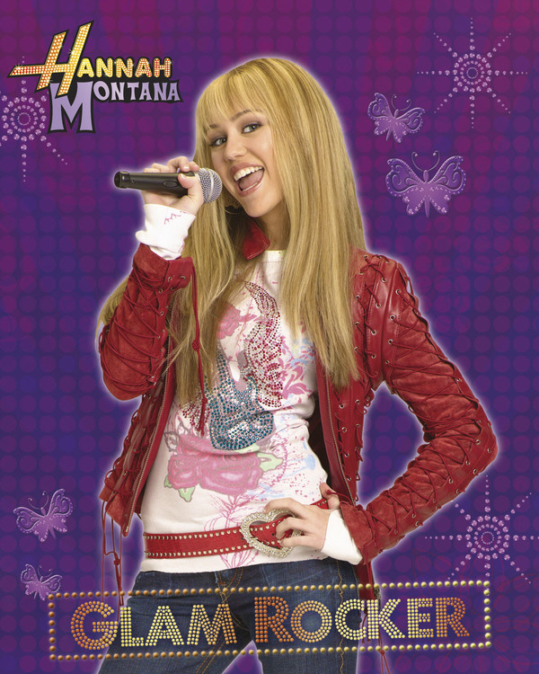 Plakát HANNAH MONTANA - glam rocker