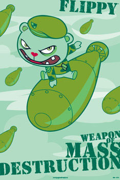 Plakat Happy tree friends