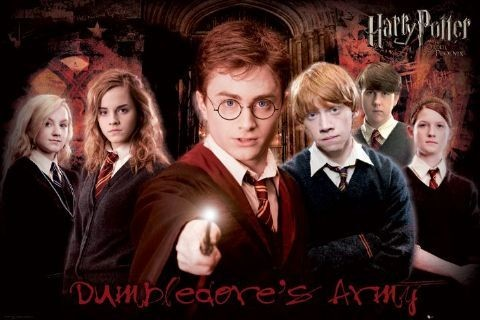 Plakat HARRY POTTER 5 - army