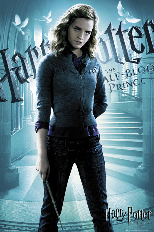 Plakat HARRY POTTER 6 - hermiona solo