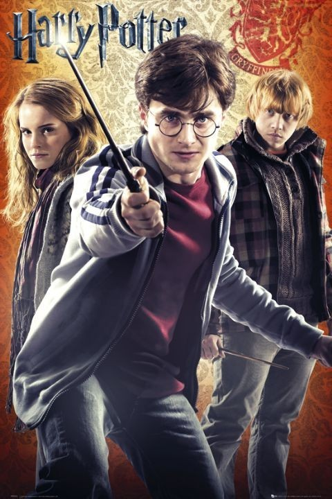 Plakát  HARRY POTTER 7 - trio