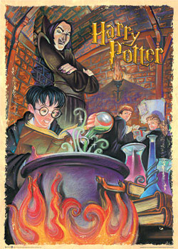Plakat HARRY POTTER - snape classroom