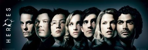 Plakát HEROES - cast