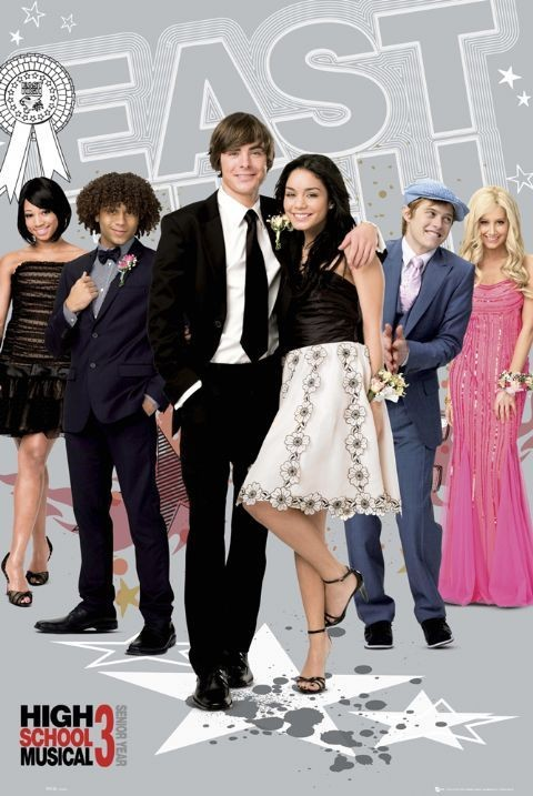 Plakát HIGH SCHOOL MUSICAL 3 - east high