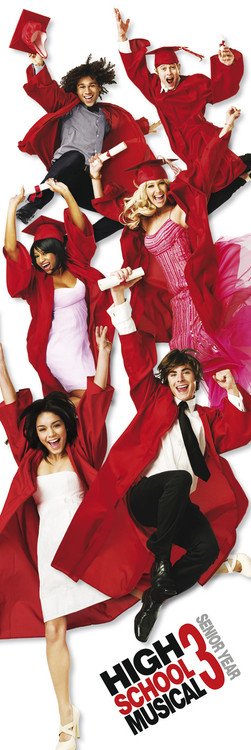 Plakát HIGH SCHOOL MUSICAL 3 - one sheet